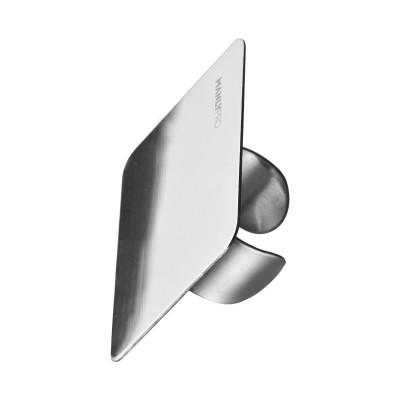 Стальная палитра кольцо на палец для смешивания косметики Manly Pro ПК: фото