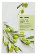 Тканевая маска с оливой MIZON Joyful Time Essence Mask Olive: фото