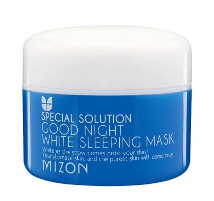 Маска ночная осветляющая MIZON Good Night White Sleeping Mask 80г: фото