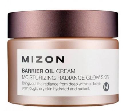 Крем увлажняющий с маслом оливы MIZON Barrier Oil Cream: фото
