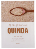 Тканевая маска с киноа A'PIEU My Skin-Fit Sheet Mask Quinoa 25г: фото