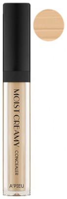 Консилер кремовый увлажняющий A'PIEU Moist Creamy Concealer No.5 Sand: фото