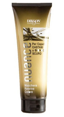 Маска для брюнеток и русых волос Dikson Nuance Maschera Raviva Color for Brown and Dark Blond Hair, CASTANI e BIONDO 250мл: фото
