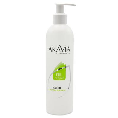 Масло после депиляции с экстрактом мяты Aravia Professional 300 мл: фото