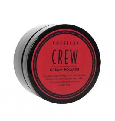 Крем-помада с легкой фиксацией и низким уровнем блеска American Crew CREAM POMADE 85г: фото
