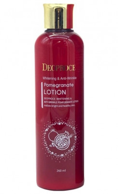 Лосьон для лица антивозрастной DEOPROCE WHITENING AND ANTI-WRINKLE POMEGRANATE LOTION 260мл: фото