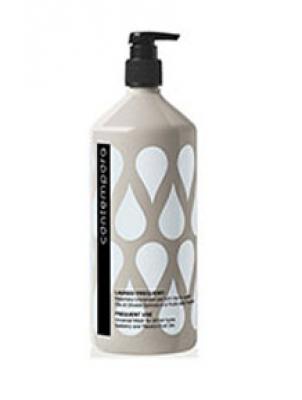 Шампунь для объема с маслами облепихи и огурца Barex Соntempora Shampoo Volumizzante Olio di Olivello Spinoso e di Cetriolo 1000мл: фото