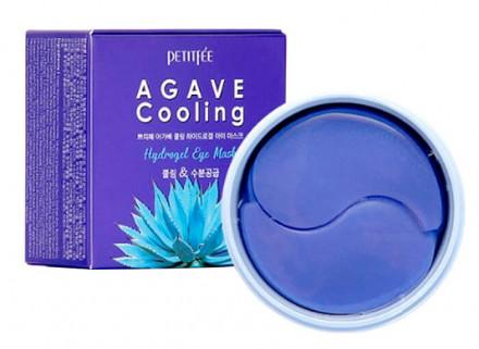 Патчи гидрогелевые охлаждающие с экстрактом агавы Petitfee Agave Cooling Hydrogel Eye Patch: фото