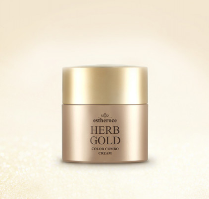 Крем СС DEOPROCE ESTHEROCE HERB GOLD COLOR COMBO CREAM 40G: фото
