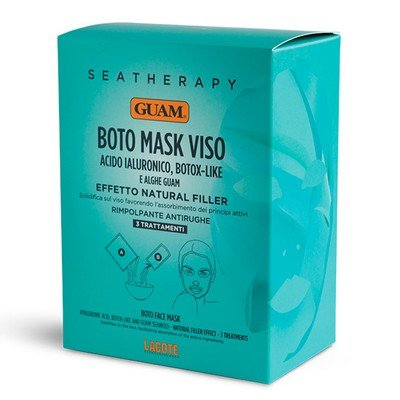 Маска для лица с гиалуроновой кислотой и водорослями GUAM Ботокс эффект 50мл: фото
