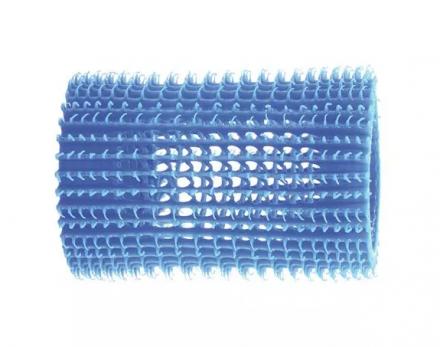 Бигуди пластиковые Eurostil 45мм, голубые 5шт: фото