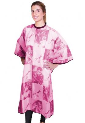 Пеньюар розовый EUROSTIL Scissors 150x126см: фото